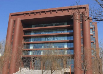 Hebei University's library