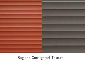 terracotta corrugated texture