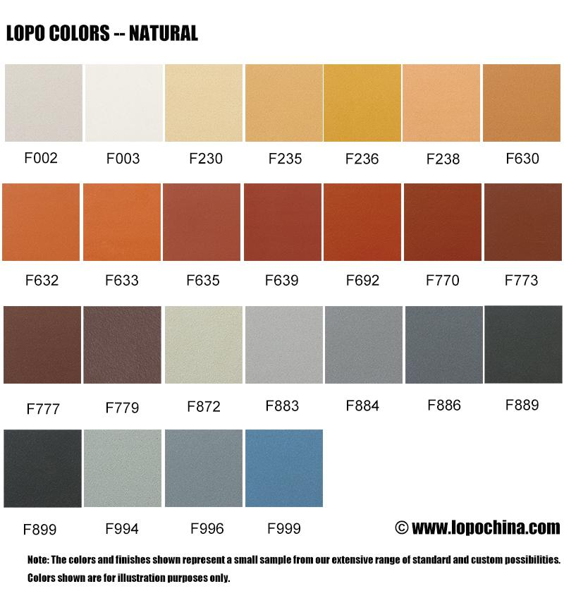 lopo colors and finishes lopo china terracotta facade. Black Bedroom Furniture Sets. Home Design Ideas