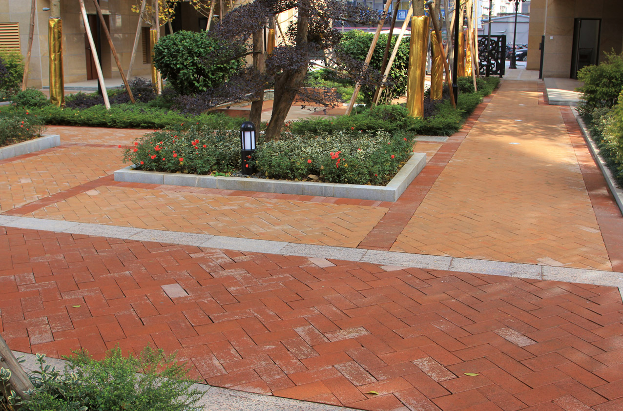 ChangSha Garden Villa LOPO China Terracotta Facade Panel Manufacturer