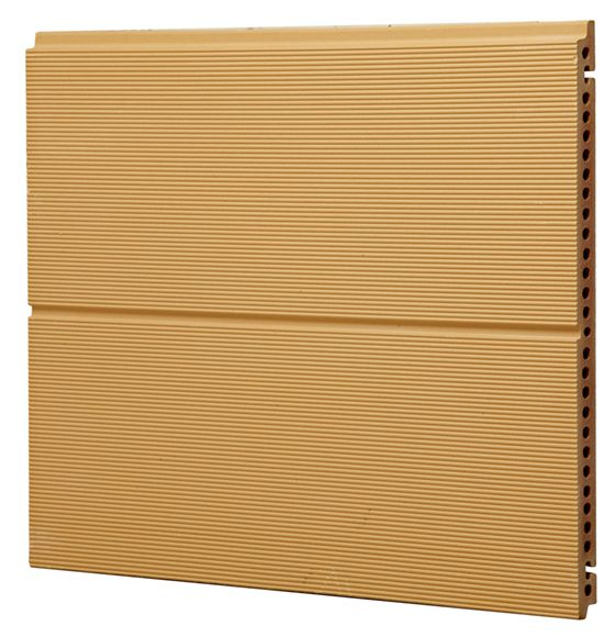 FGH451826 Terracotta Facade Panel Grooved Finish