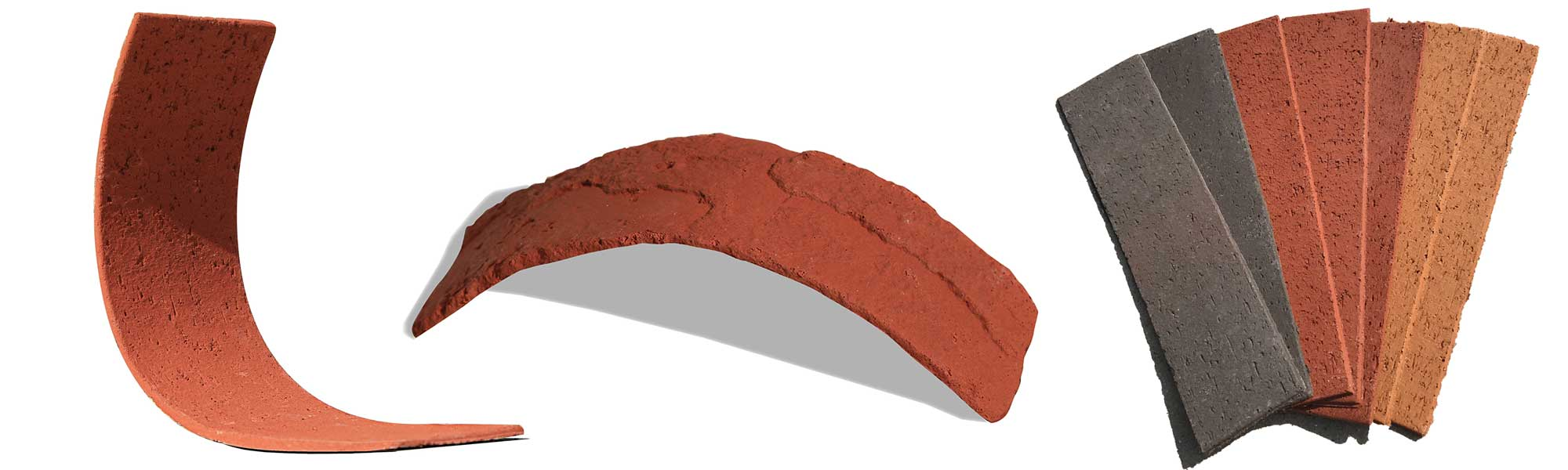 Flexible brick slips