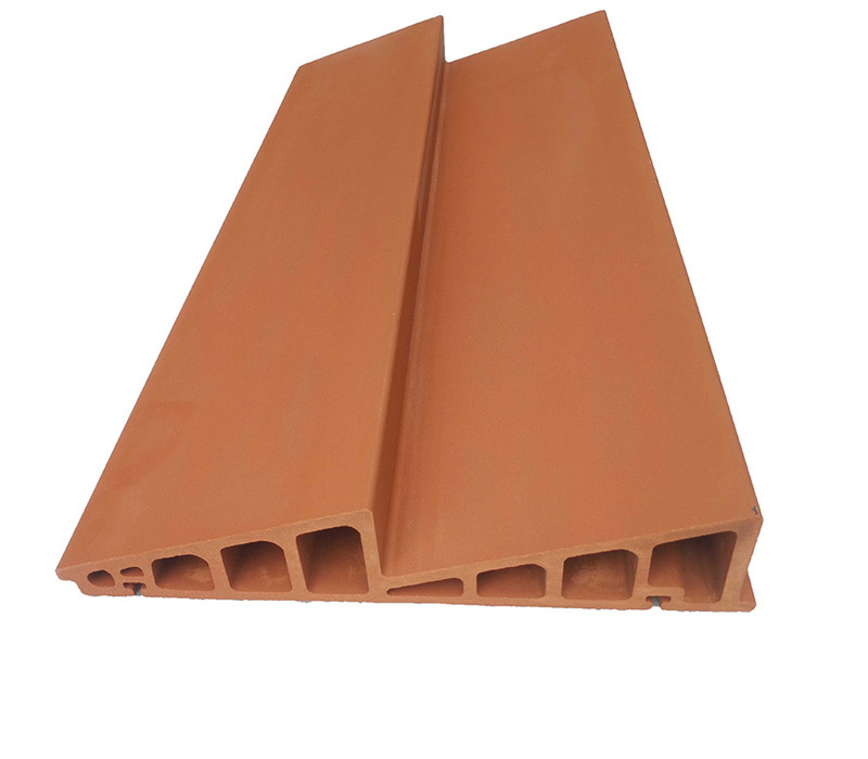 Double-triangular shaped Terracotta Panel
