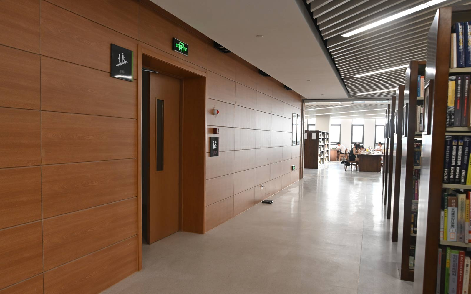 Woodgrain Digital Inkjet Panel --- Nanjing Forestry University Library (0)
