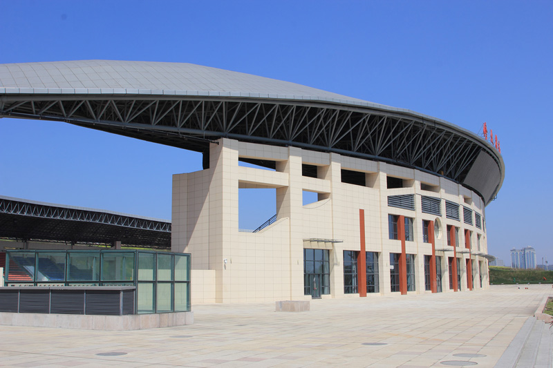 Xiuwen Sport Center Facade Project (2)