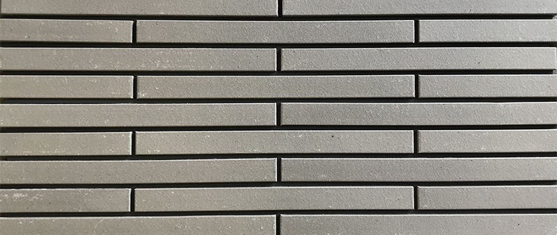 Grey Long Thin Brick (Natural Surface) WF996
